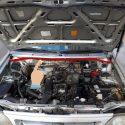 زه لاستیکی عقب درب موتور پراید 132 کد:3203831