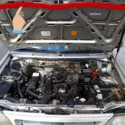نوار لاستیکی جلو درب موتور پراید ( بونت ) کد:3203666