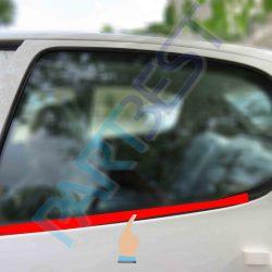 نوار گردگير و نگهدارنده داخل شيشه درب عقب چپ پژو 206 کد:3414150